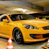Auto-Auto-Parken-Versuche - Xtreme Stadt-Fahren-