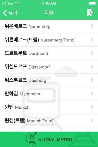 Metro Euro screenshot 2