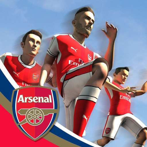 Arsenal FC - Endless Football iOS App