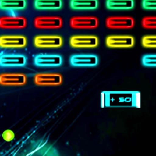 Addictive Super Space Brick : Win The War iOS App