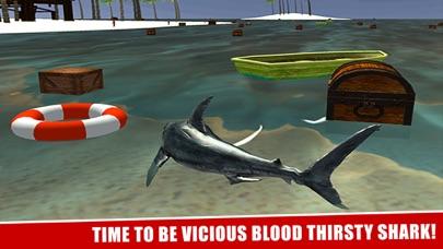 サメの攻撃シミュレータ3Dグレートホワイトフィッシュの戦いのスクリーンショット4