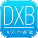 Dubai Travel Guide and Offline Metro Map to Visit icon
