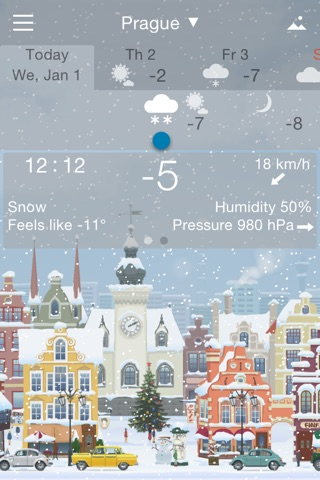 Precise Weather YoWindow screenshot 3