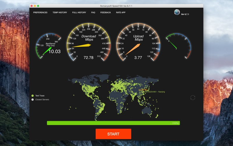 Romanysoft Speed19X Screenshots