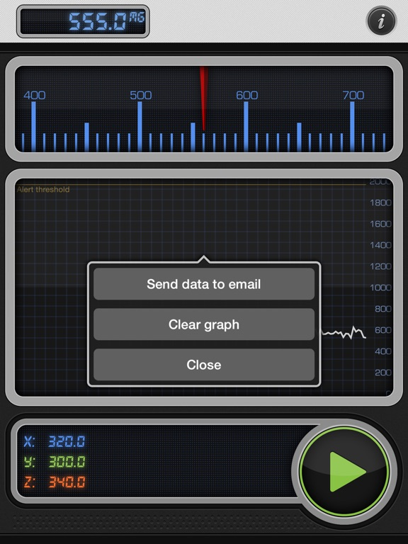 Screenshot #6 pour Teslameter 11 - Metal Detector
