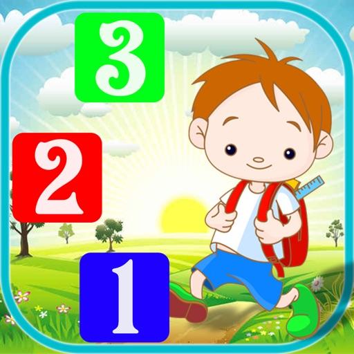 Bé Học Số: Cộng - Trừ - So Sánh Các Số Từ 0 - 20 iOS App