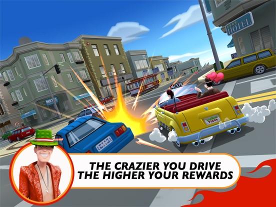 Screenshot #3 for Crazy Taxi™ City Rush