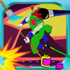 Paint For Kids Game Power Rangers Version App