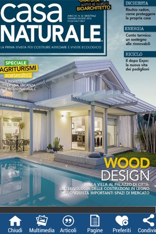 Casa Naturale Edicola Digitale screenshot 1