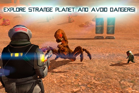 Mars Survival 3D: Cosmic Crash Full screenshot 2