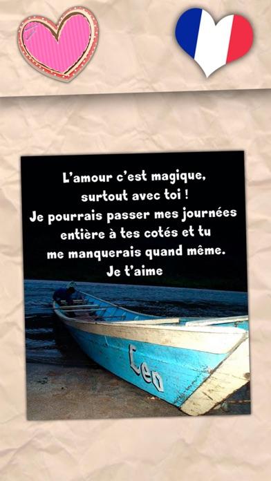 Belles phrases d'amour - Messages romantiquesCapture d'écran de 2
