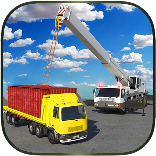 Construction Cran Simulator Truck Driver iOS App