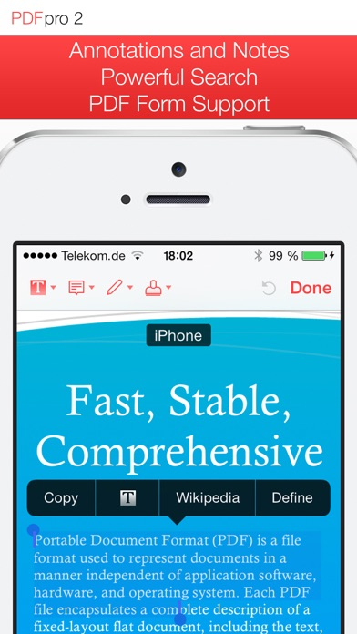 Screenshot von PDF Pro 2 – Die ultimative PDF App1