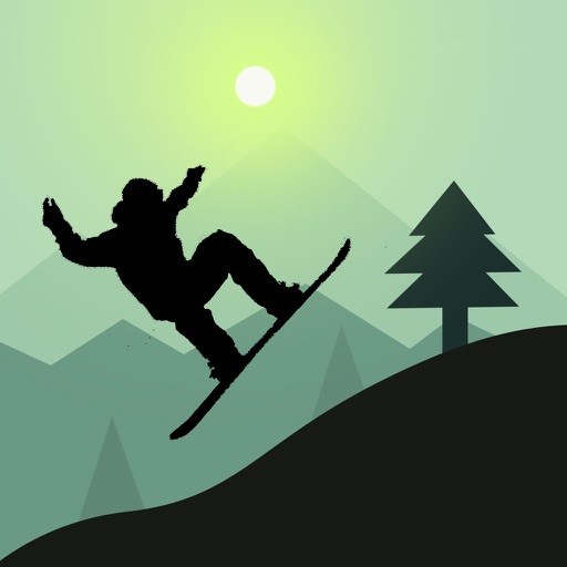 Snowboarding Jump Steppy Pants iOS App