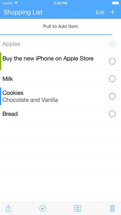 ListBook - Lists done... screenshot1