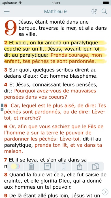 download La Bible Louis Segond - Audio Holy Bible in French apps 1