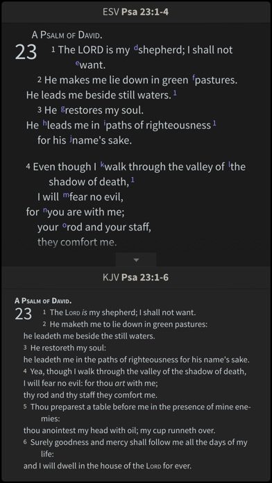 Nrsv Bible By Olive Tree review screenshots