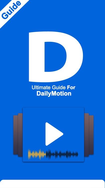 Ultimate Guide For Dailymotion by Fawad Ghafoor