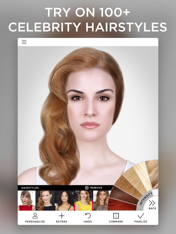 Virtual makeover on the app store ipad screenshot 3 urmus Image collections