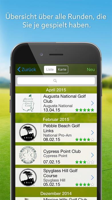 Screenshot von Expert Golf – Golfguide & Logbuch4