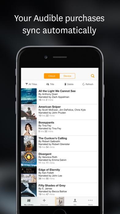 download Audiolibros de Audible apps 4