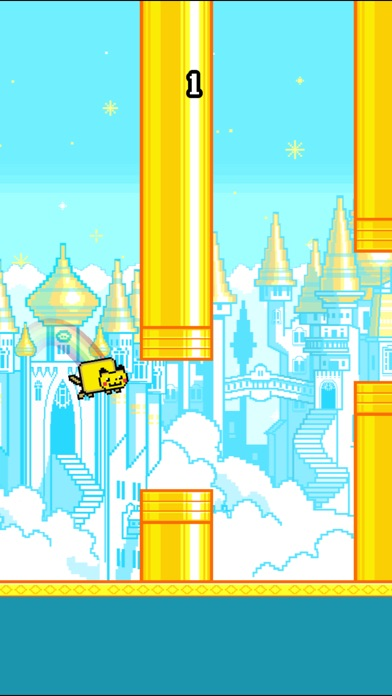 Screenshots of Flappy Nyan for iPhone
