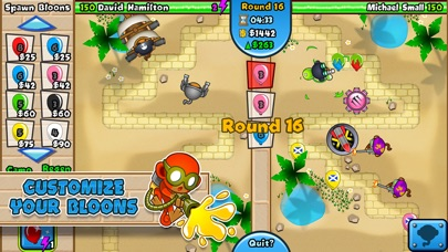 Screenshots of Bloons TD Battles for iPhone