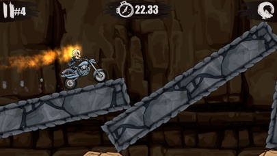 Screenshots of Moto X3M Bike Race Game and Stunts Racing for iPhone