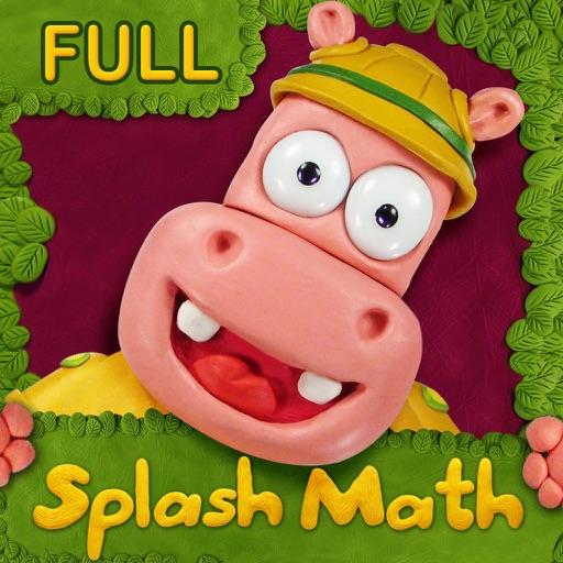 Preschool-Kindergarten Splash Math Learning Games
