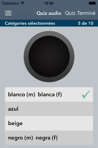Spanish | French - AccelaStudy® screenshot 2