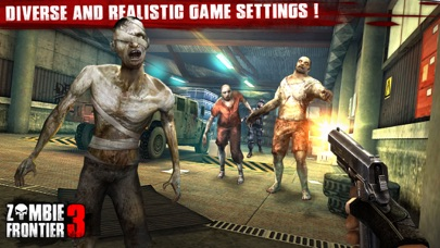 Screenshots of Zombie Frontier 3 – Top Zombie Shooting Game for iPhone