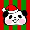 可愛大貓熊 萬聖節貼紙 - Pandaaa!!!