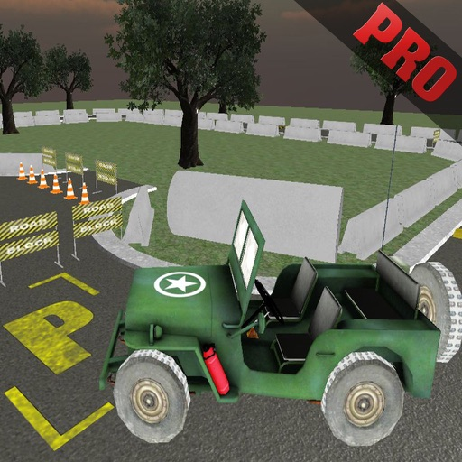 Army Jeep Drive & Speed Parking Pro