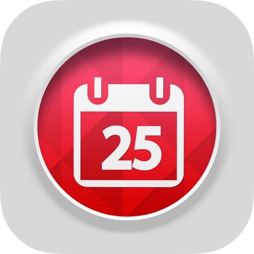 Christmas Snow Countdown event reminder timer App iOS App