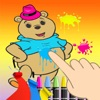 Coloring Game Bear For Kids