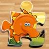 迪諾益智拼圖遊戲免費-恐龍拼圖孩子幼兒和學齡前學習遊戲