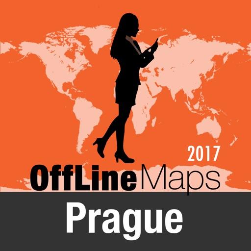Prague Déconnecté carte et guide de voyage