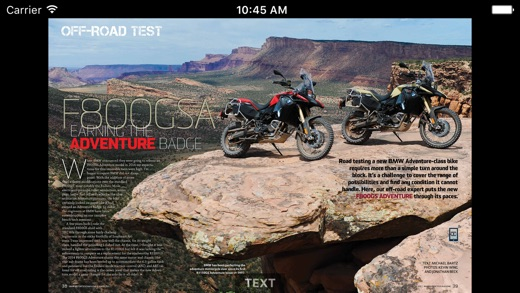 bmw motorcycle magazine on the app store