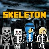 Skeleton Skins - Ghost Skins for MCPC & PE Edition