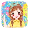 Makeover cute princess-Free dress up game for kids