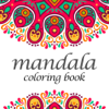 interactive Touch Coloring Book of Mandala Images