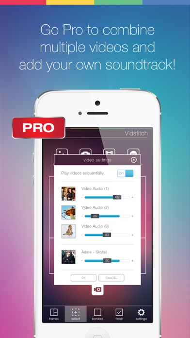 Vidstitch frames for instagram on the app store iphone screenshot 5 ccuart Gallery