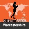 Worcestershire 離線地圖和旅行指南
