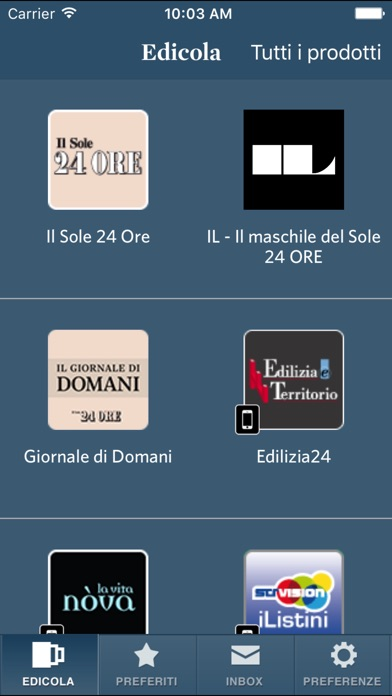 Screenshot of Il Sole 24 ORE1