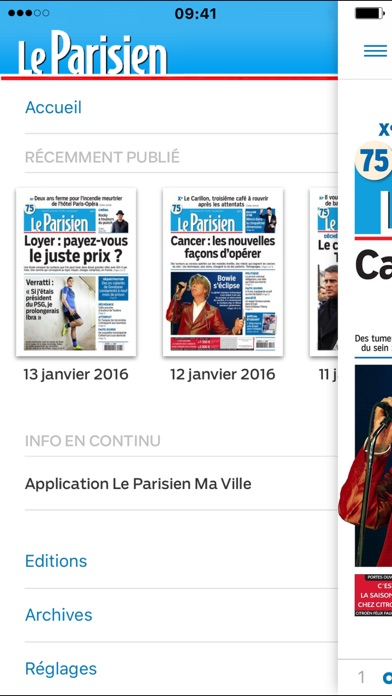 Le Journal Le Parisien review screenshots