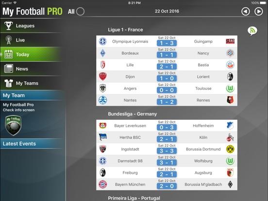 My Football Pro HD Screenshots