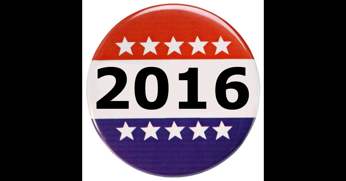 2016 election app on the app store