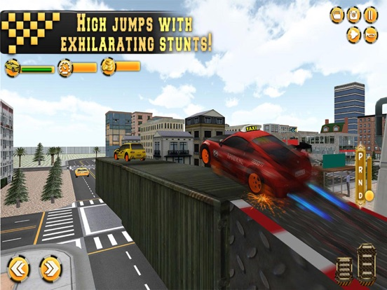 In Taxi: Drive Simulation 2016 screenshot 8