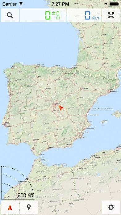Spain Portugal Offline Map GPS Navigator On The App Store - Portugal map app
