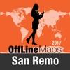 Сан-Ремо Оффлайн Карта и
